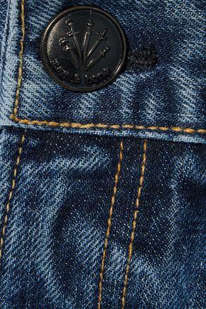 RAG & BONE Cropped high-rise straight-leg jeans