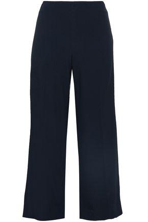 THEORY Terena B Rosina cropped crepe wide-leg pants