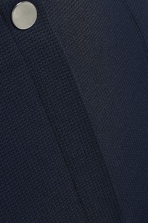 THEORY Cropped jacquard-knit skinny pants