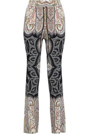 ETRO Veronica printed ponte straight-leg pants