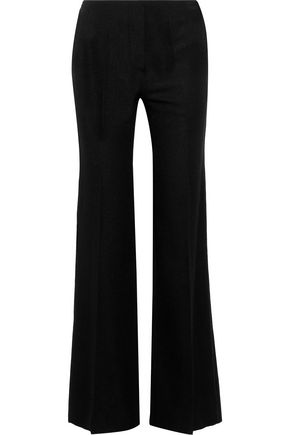 VICTORIA BECKHAM Wool woven flared pants