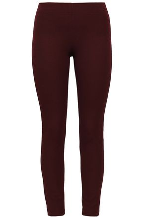 JOSEPH Nitro stretch-gabardine leggings