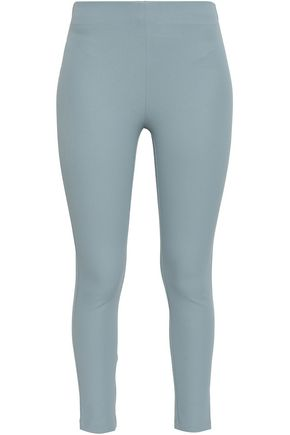 JOSEPH Nitro cropped stretch-gabardine leggings