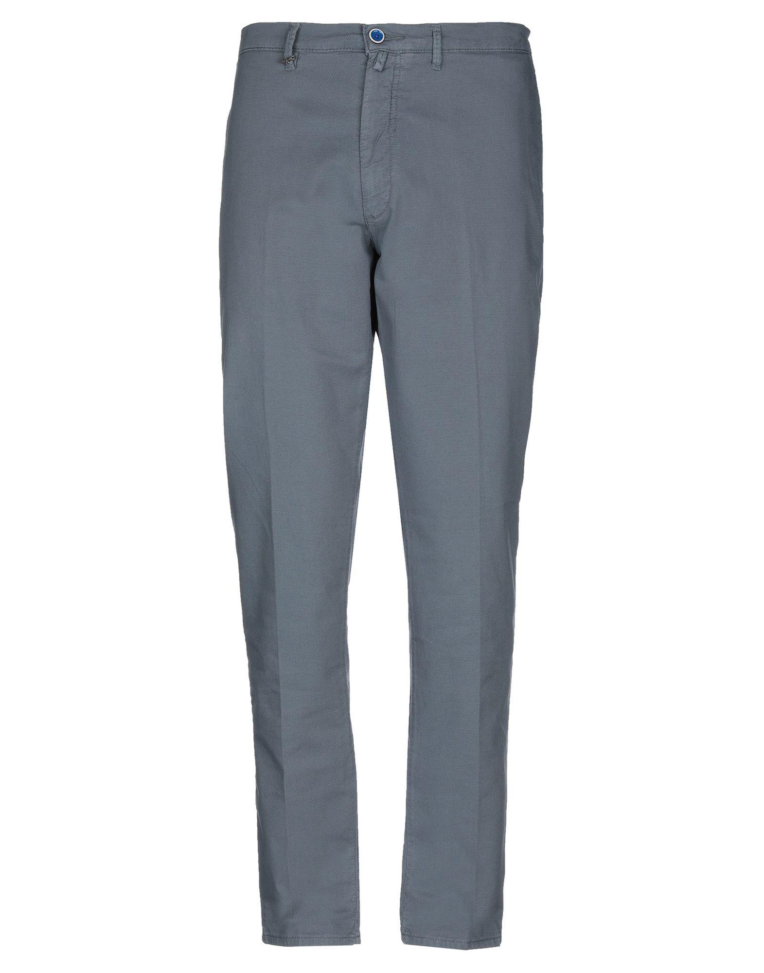 《期間限定 セール開催中》QUOTA OTTO メンズ パンツ グレー 44 コットン 99% / ポリウレタン 1%