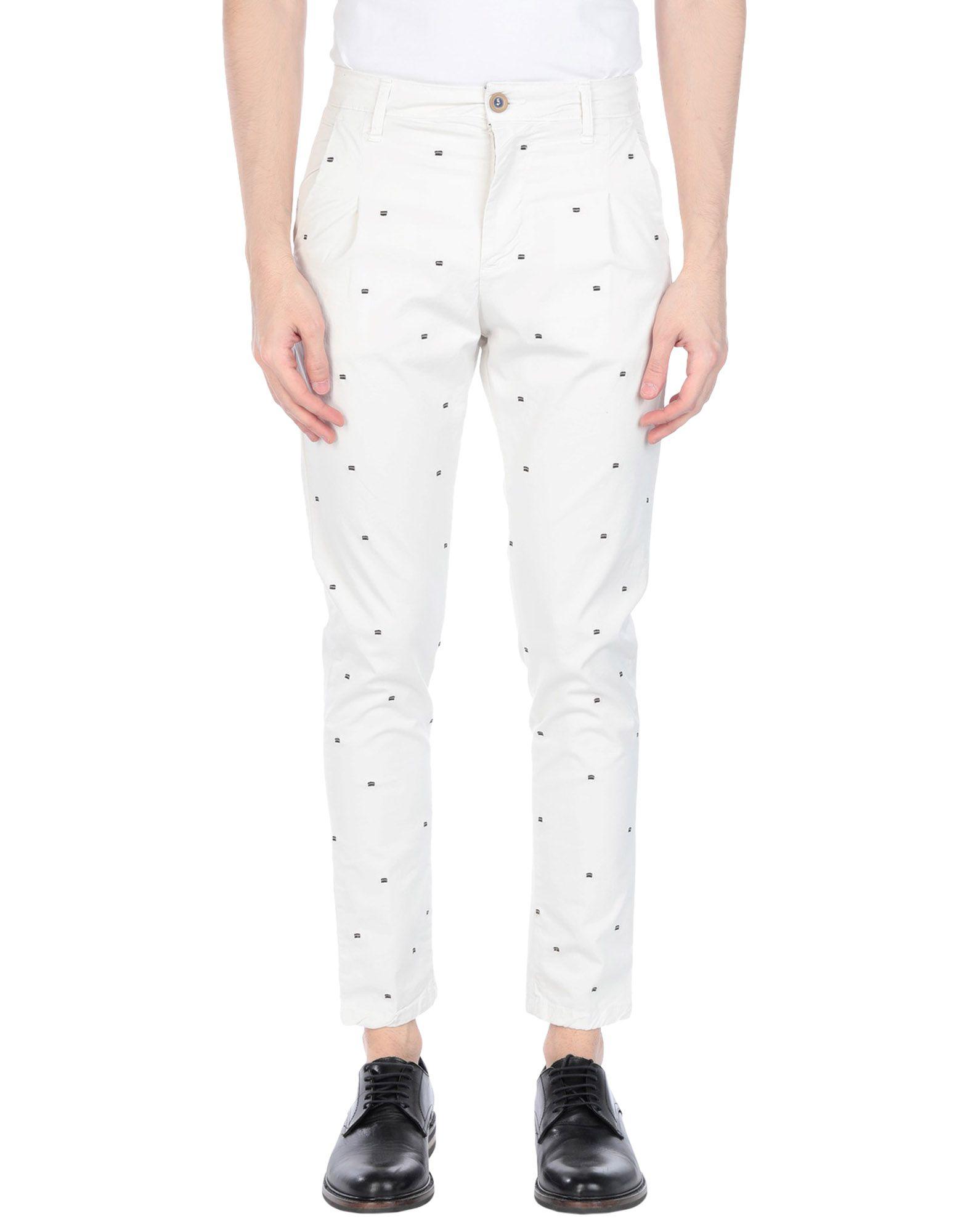 《セール開催中》V2? LIVING CLOTHING メンズ パンツ アイボリー 44 コットン 98% / ポリウレタン 2%