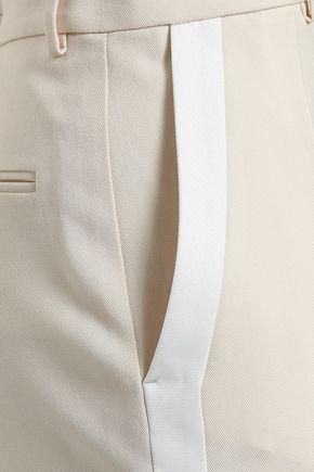 JOSEPH Wool-canvas tapered pants