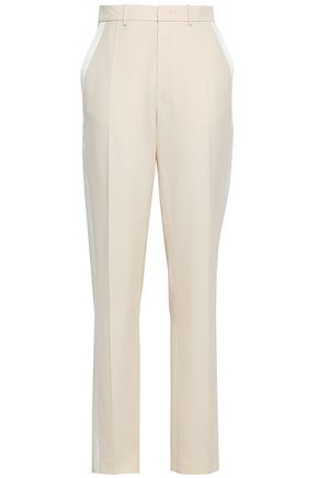 JOSEPH Wool-canvas tapered pants