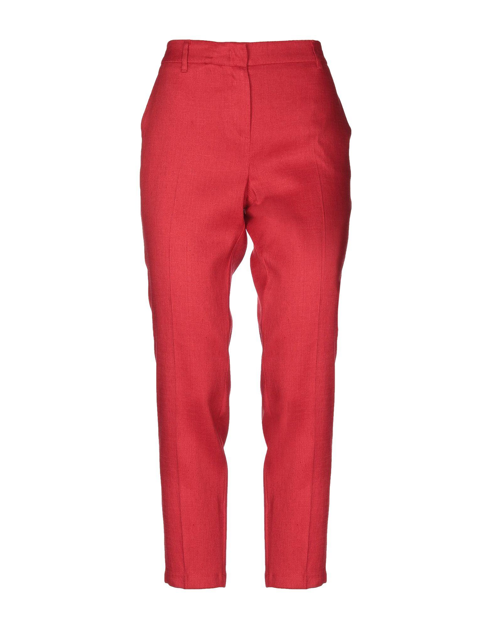Повседневные брюки  - Красный цвет