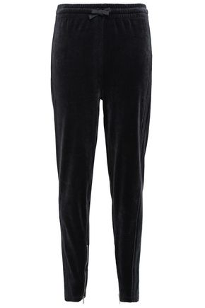IRO Cotton-blend velvet tapered pants