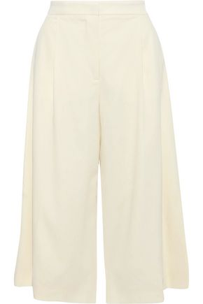 STELLA McCARTNEY Oliver pleated wool culottes