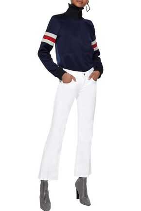 Stella Mccartney Jeans STELLA MCCARTNEY WOMAN 70'S FLARE MID-RISE FLARED JEANS WHITE
