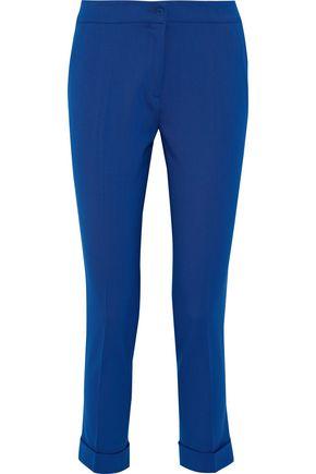 ETRO Cropped stretch-wool twill skinny pants
