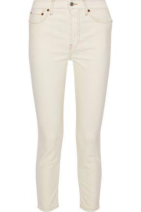 RE/DONE Cotton-blend corduroy skinny pants