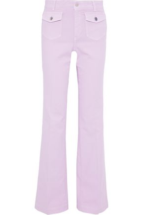 STELLA McCARTNEY The Flare high-rise bootcut jeans