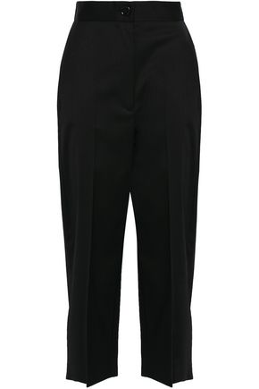MM6 MAISON MARGIELA Cropped twill tapered pants