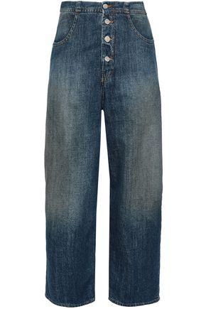 MM6 MAISON MARGIELA High-rise bootcut jeans