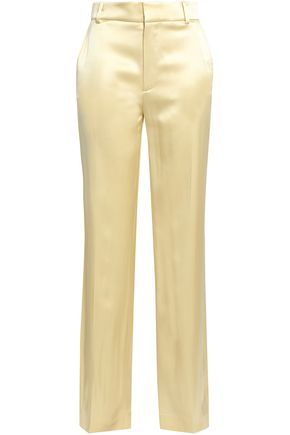 JOSEPH Ferdy silk-satin wide-leg pants