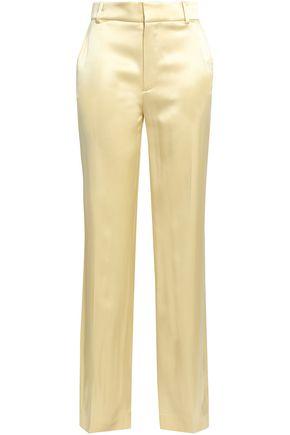 JOSEPH Ferdy silk-satin wide-leg pants
