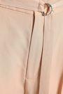 JOSEPH Belted washed-silk straight-leg pants