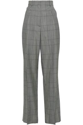 MAISON MARGIELA Prince of Wales checked wool wide-leg pants
