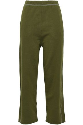 MM6 MAISON MARGIELA French cotton-terry track pants