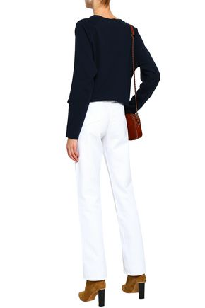 FRAME High-rise straight-leg jeans