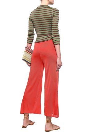 MISSONI Knitted kick-flared pants
