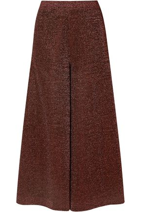 MISSONI Pleated Lurex culottes