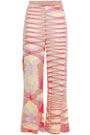 MISSONI Sequined knitted kick-flare pants