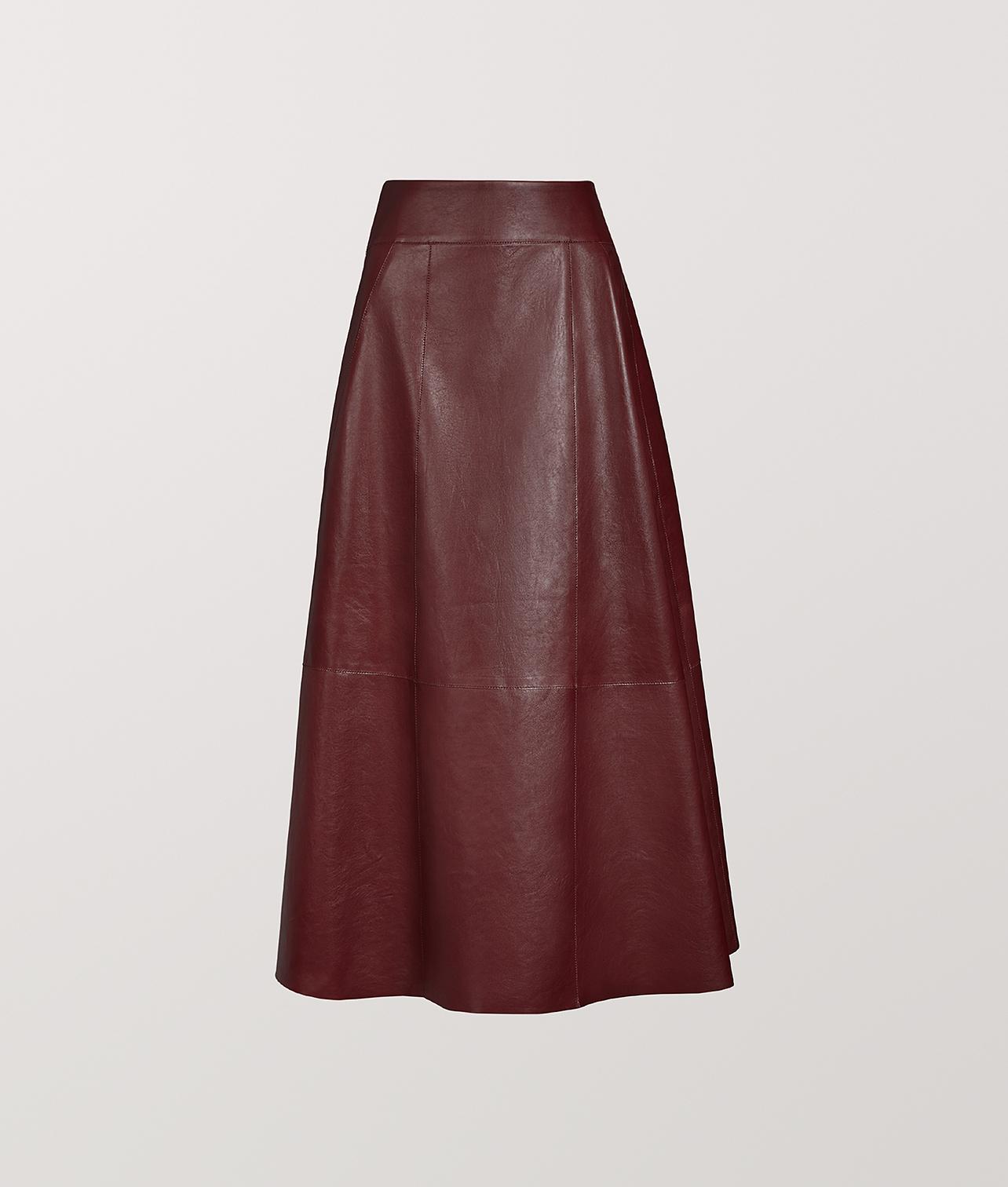 BOTTEGA VENETA | Skirt In Calf - Bottega Veneta | Goxip