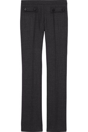 GIAMBATTISTA VALLI Wool straight-leg pants