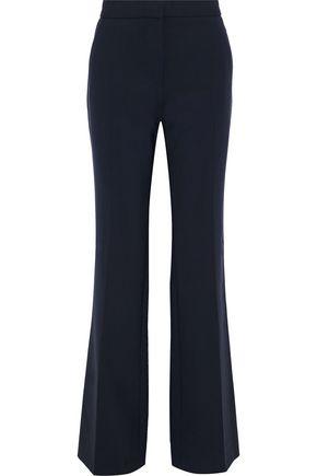 VICTORIA, VICTORIA BECKHAM Stretch-wool straight-leg pants