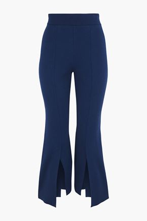 STELLA McCARTNEY Stretch-knit kick-flare pants