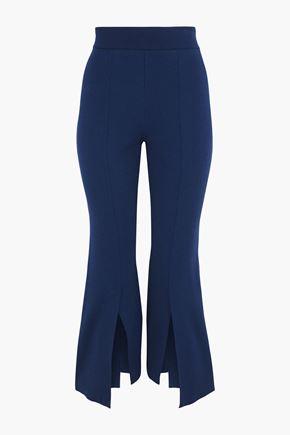 STELLA McCARTNEY Stretch-knit kick-flare pants