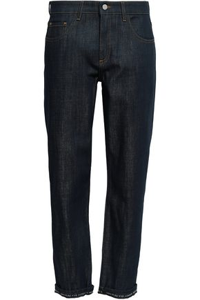 VICTORIA, VICTORIA BECKHAM Cropped mid-rise straight-leg jeans