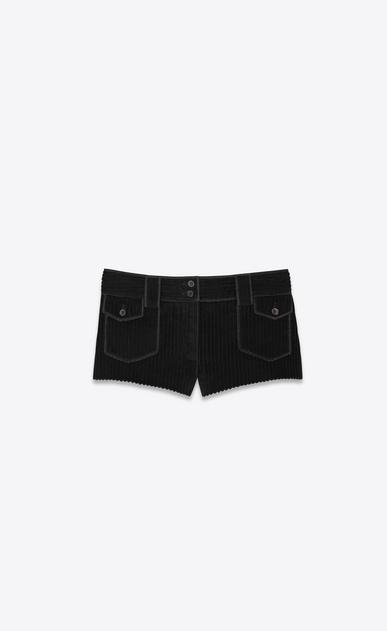 Micro shorts in vintage corduroy
