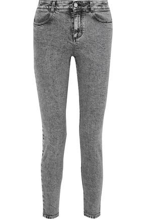 STELLA McCARTNEY Faded high-rise skinny jeans
