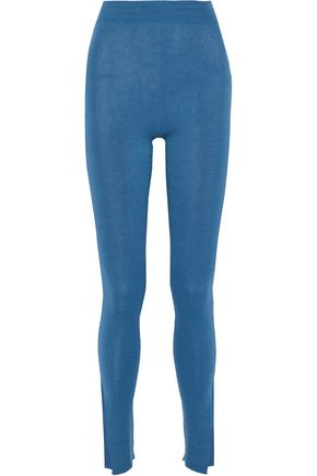 STELLA McCARTNEY Cotton-blend leggings