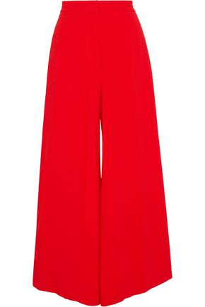 STELLA McCARTNEY Crepe wide-leg pants