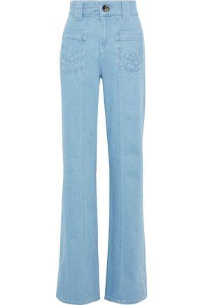 VICTORIA, VICTORIA BECKHAM High-rise bootcut jeans