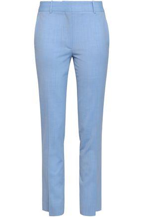 VICTORIA BECKHAM Stretch-wool slim-leg pants