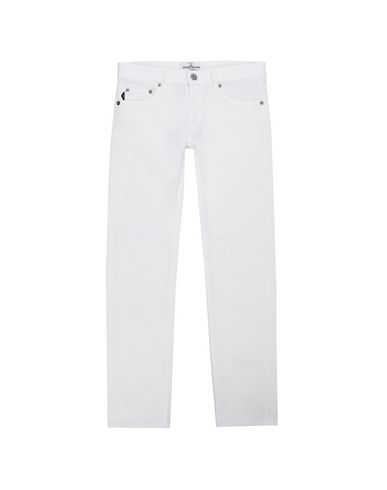 STONE ISLAND JUNIOR TROUSERS - 5 POCKETS Man J3223 f