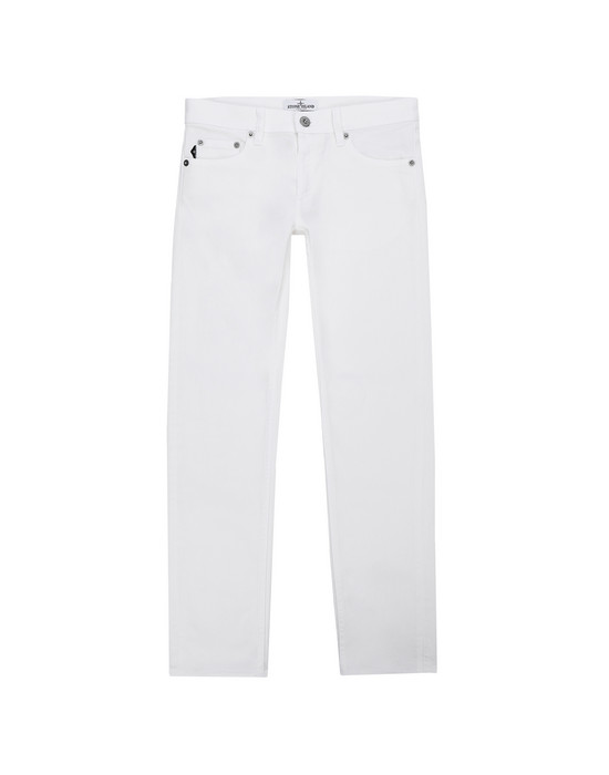 STONE ISLAND JUNIOR TROUSERS - 5 POCKETS J3223
