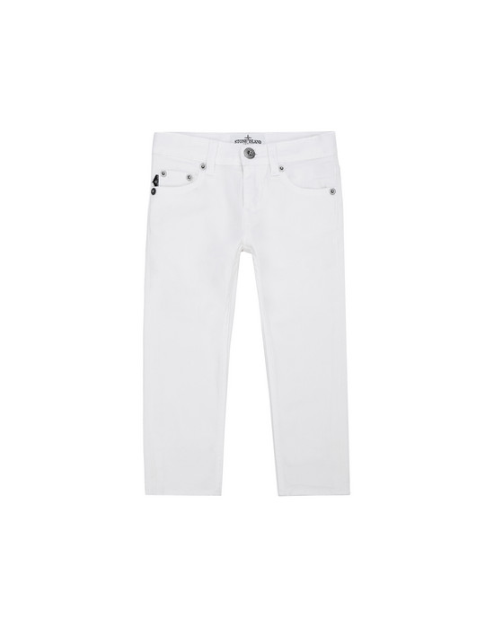 TROUSERS - 5 POCKETS J3223 STONE ISLAND JUNIOR - 0