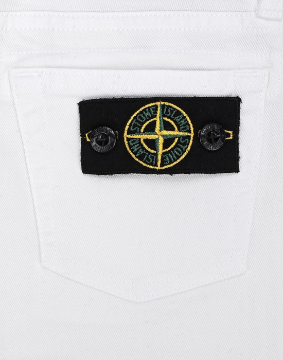13307560jk - TROUSERS - 5 POCKETS STONE ISLAND JUNIOR
