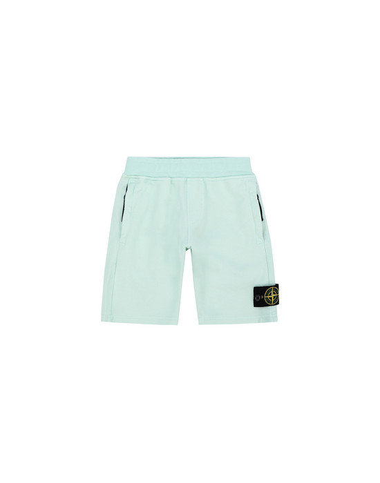 FLEECE BERMUDA SHORTS 62142 STONE ISLAND JUNIOR - 0