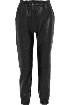 STELLA McCARTNEY Faux leather tapered pants