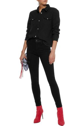 RTA Delaney stretch-cotton twill skinny pants