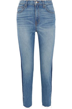 IRO Carnac cropped high-rise skinny jeans