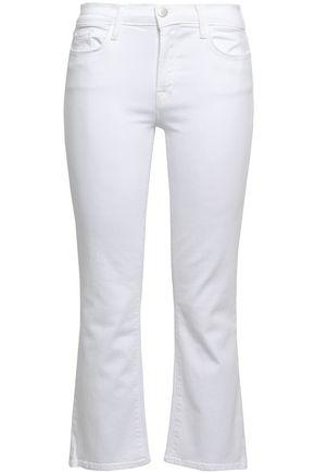 J BRAND Mid-rise kick-flare jeans